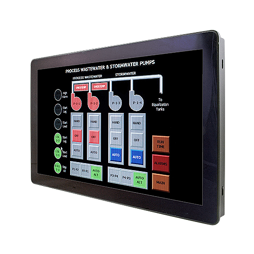 "Avalue ARC-15W33 15.6"" WXGA LCD Intel Celeron PCAP Panel PC w/ IET Expansion"
