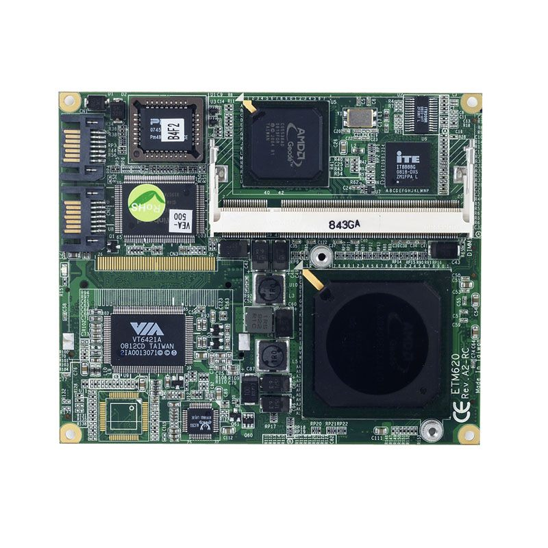 Axiomtek ETM620 ETX V3.0 SoM with AMD Geode LX Family and Multiple I/O Features