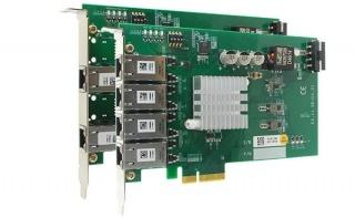 Neousys PCIe-PoE354at/352at 4-port/2-port server-grade gigabit 802.3at PoE+ card