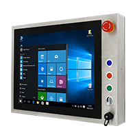 "Winmate R19IB3S-SPM1-B 19"" Intel Celeron, IP65 Stainless Steel Touch Panel PC"
