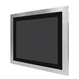 "Aplex Technology FABS-115 15"" Flat Front Panel IP66/IP69K Stainless Monitor"
