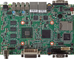 "3.5"" with Intel Atom options SBC with 2 LAN, 2 COM, DIO"