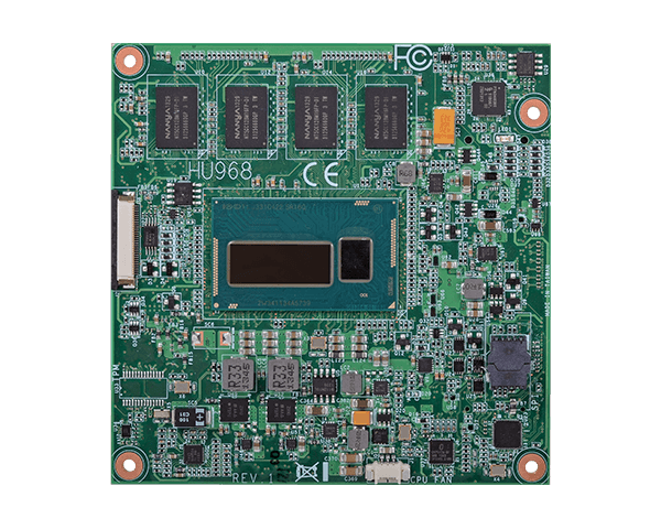 DFI HU968 COM Express Compact Type 6 with 4th Generation Intel Core Processor