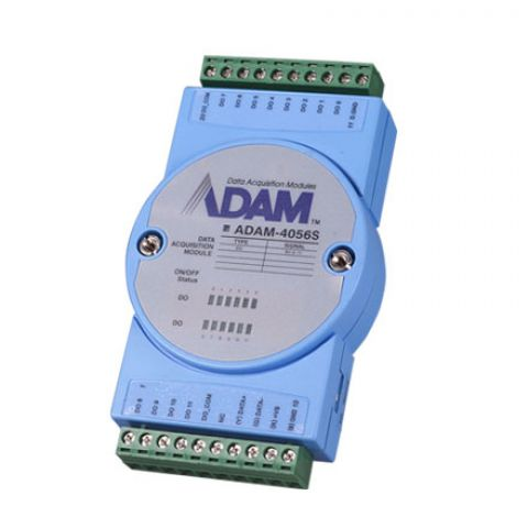 12-ch Sink Type Isolated Digital Output Module with Modbus