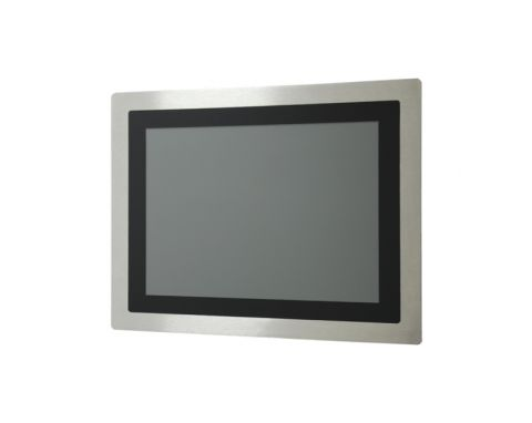 "15"" IP65 Stainless Steel Indutrial Monitor P-Cap Touchscreen"