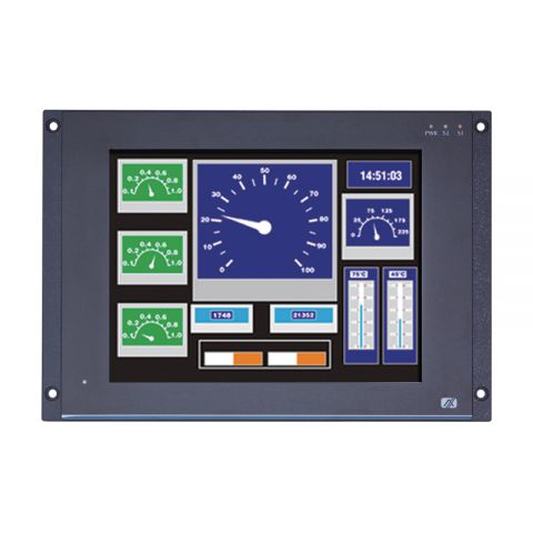 Rail Certified Touch Panel PC EN50155