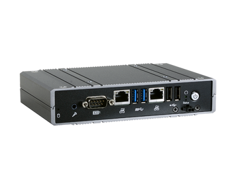 Compact Fanless Embedded System Intel Atom E3900 Series CPU