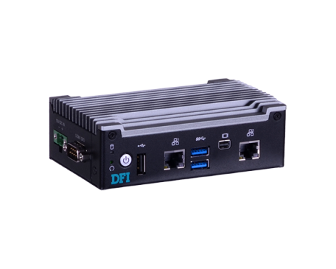 Compact Fanless Embedded PC with Intel Atom x5-E940 Quad Core CPU