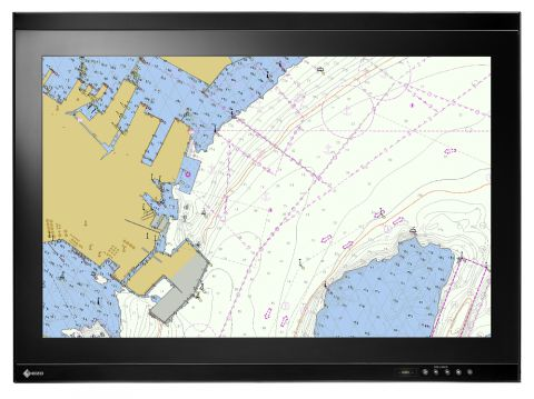 "25"" DuraVision Marine Certified Touchscreen Monitor 1920x1200"