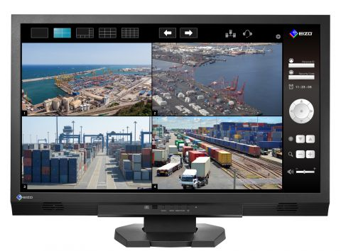"23"" Real-Time Visibility Enhancing Security and Surveillanc Monitor"