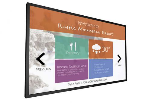 "75"" Multi-Touch Display with OPS Slot and Quad View"
