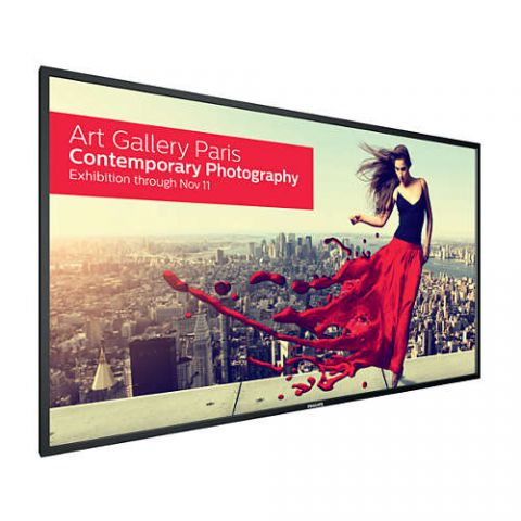 "84"" 4K LCD Signage Display with OPS Slot and Quad View"