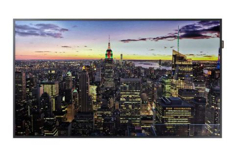 "65"" 4K Signage Display LCD Monitor 24/7 Usage & Remote Management"