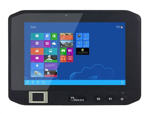 "8"" Rugged Mobile Tablet with Intel Celeron N3160 1.6GHz CPU"