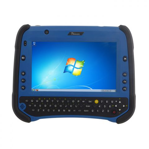 "7"" Windows Rugged Tablet Computer with Qwerty Keyboard"