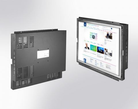 "17"" Open Frame Display with Wide Operating Temperature"