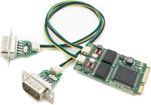 CAN Bus Mini PCIe Cards
