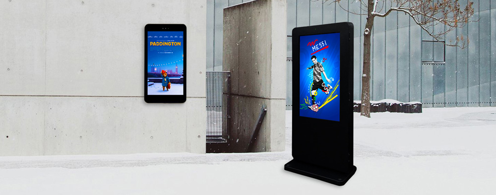 Large Format Outdoor Digital Signage Displays
