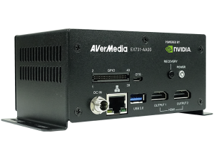 AVerMedia EX731-AA00-2AC0 NVIDIA Jetson TX2 Standard Box PC with Cooling System