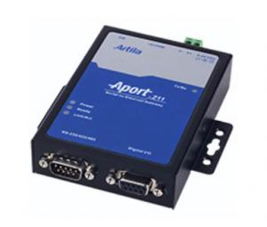 Artila Aport-211S Single-port Serial-to-Ethernet Industrial Gateway w/ 8x DIOs