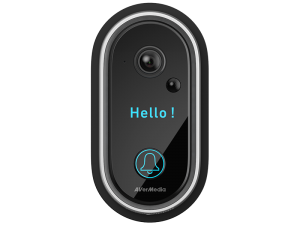 AVerMedia HD510 Wide-Angle and High-Quality, Weather-Proof Video Doorbell
