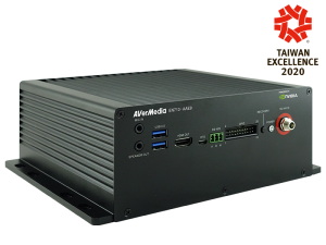 AVerMedia EN713-AAE9-1PC0 NVIDIA Jetson Nano Fanless Box PC w/ 8x 10/100 MbE PoE