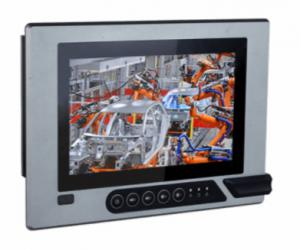 "DFI KSM190-AL 19"" Intel Atom/Celeron Modular-Designed Fanless Touch Panel PC"