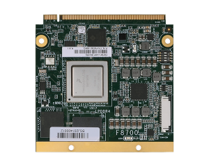 DFI F8700 Qseven Module with 4GB LPDDR4 Memory Down and 1 PCIe x1, 1 SDIOx4 bit