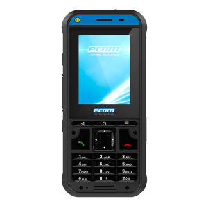 Ecom Ex-Handy-10 DZ1 Intrinsically Safe 4G/LTE Phone for Zone 1/21 & DIV 1