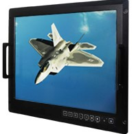 "Winamte R20L100-RKA2ML 20.1"" Military Grade Rackmount Display w/ Optional Touch"