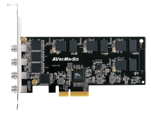 AVerMedia CL334-SN 1080p30 SDI Quad-Channel H.264 H/W Encode PCIe Video Card