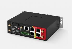 Robustel R2000 Dual Module 4G Cellular Router with 4 x PoE & Wi-Fi