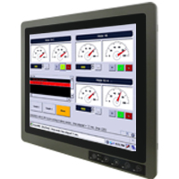 "Winmate R19L100-67FTP 19"" 1280x1024 Full IP67 Rugged Display with P-CAP Touch"
