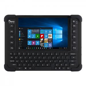 "Winmate M101BK 8"" Intel Celeron N2930 Baytrail-M Rugged Tablet w/ QWERTY Keypad"