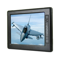 "Winmate R15L100-MLC3HB 15"" High Brightness  Military Display, 1024x768"