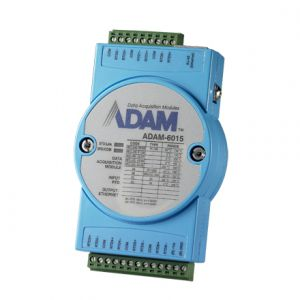 Advantech ADAM-6015 Ethernet to 7 Channel Isolated RTD Input Module / Modbus TCP