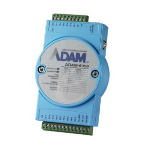 Advantech ADAM-6050 18-ch Isolated Digital I/O Modbus TCP Module