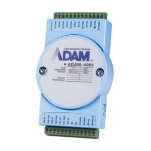Advantech ADAM-4068 8-ch Relay Output Module with Modbus