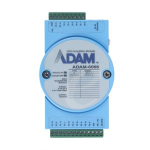 Advantech ADAM-6066 6-ch Digital Input and 6-ch Power Relay Modbus TCP Module