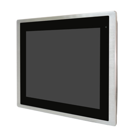 "Aplex Technology FABS-112 12.1"" Flat Front Panel IP66/IP69K Stainless Monitor"