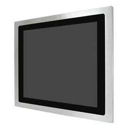 "Aplex Technology FABS-117 17"" Flat Front Panel IP66/IP69K Stainless Monitor"