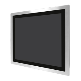 "Aplex Technology FABS-119 19"" Flat Front Panel IP66/IP69K Stainless Monitor"