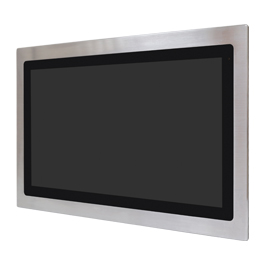 Aplex Technology FABS-121 Flat Front Panel IP66/IP69K Stainless Steel Monitor