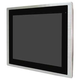 "Aplex Technology FABS-912A 12.1"" Flat Front Panel IP66/IP69K Panel PC"