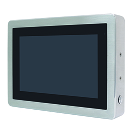 "Aplex Technology ViTAM-110 10.1"" IP66/IP69K Stainless Steel Display"