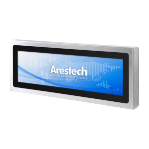 "Arestech TPM-3628XB 28.6"" LCD IP66 Stainless Steel Industrial Monitor W/O Touch"