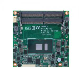 Axiomtek CEM511 COM Express Type 6 Compact Module with 7th Gen Intel Processor