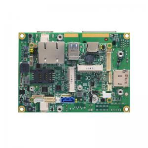 Axiomtek Q7B301 Rev 2.1 Application Board with LVDS, HDMI, Dual LANS and Audio