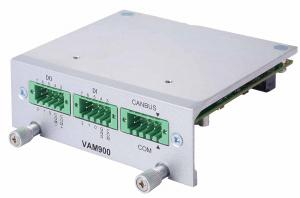 Axiomtek VAM900 Isolated DIO, Serial, CANbus, PCI Express, SIM Module