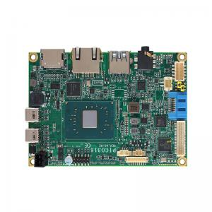 PICO ITX Board with Pentium or Celeron CPU mPCIe and 5 USB